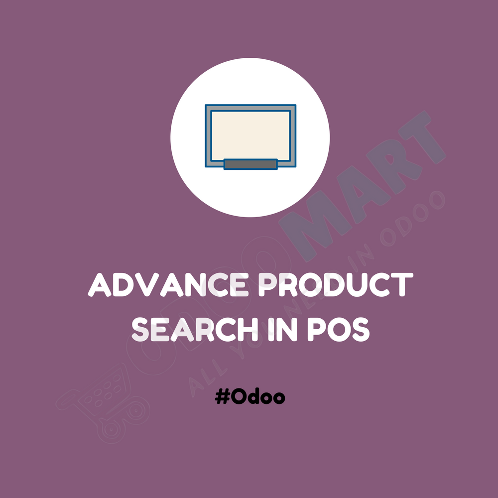 Advance Product Search in POS #OdooMart