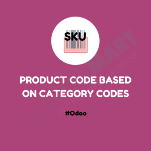 Product Code Based on Category Codes #OdooMart
