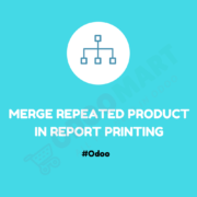 Merge Repeated Product in Report Printing #OdooMart