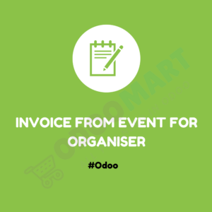 Invoice From Event For Organiser #OdooMart