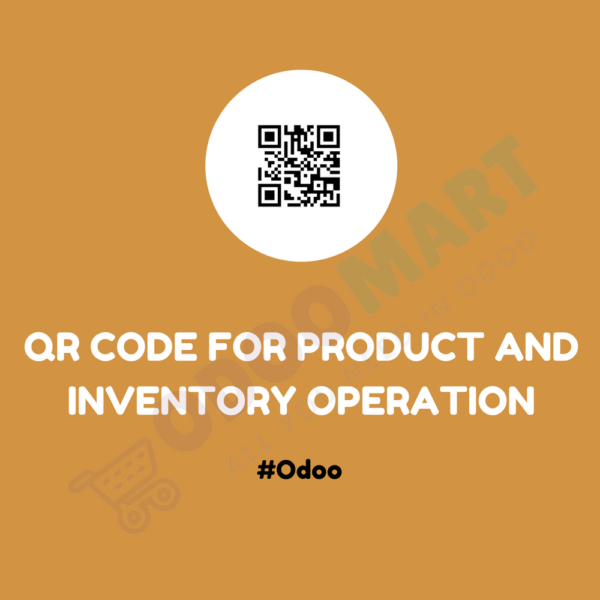 QR CODE FOR PRODUCT AND INVENTORY OPERATION