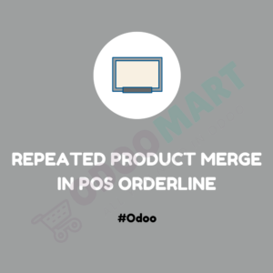 Repeated Product Merge in POS Orderline #OdooMart