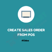 Create Sales Order From POS #OdooMart