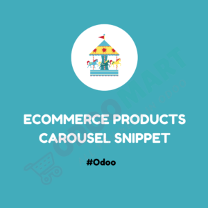 Ecommerce Products Carousel Snippet #OdooMart