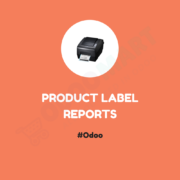 Product Label Reports #OdooMart