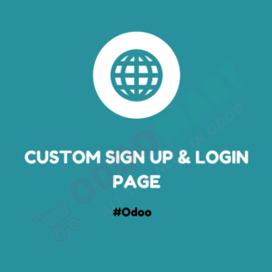 Custom SignUp & Login Page #OdooMart