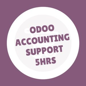 Odoo Accounting Support Pack ( 5 HRS ) #oDOOmART